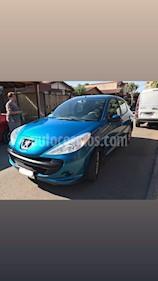 Peugeot 207 5P 1.4 One Line Ac  usado (2009) color Azul precio $3.100.000