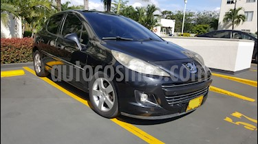 Peugeot 207 1.6L Premium Aut usado (2011) color Negro precio $22.000.000