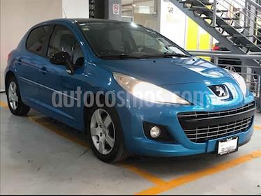 Peugeot 207 5p Feline L4 1.6L 5vel usado (2013) color Azul precio $112,000