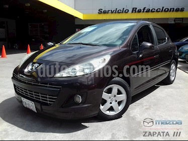 Peugeot 207 5P Allure usado (2012) color Negro Obsidiana precio $115,000