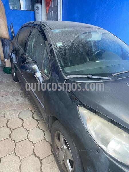 Peugeot 207 5P Active usado (2012) color Negro precio $46,000
