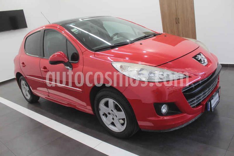 Peugeot 207 5P Allure usado (2012) color Rojo precio $93,000
