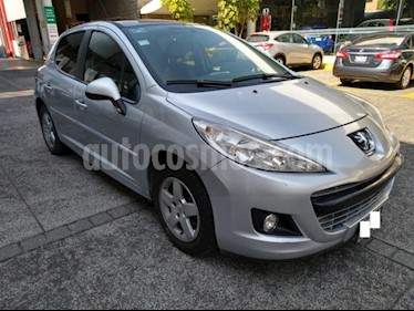 Peugeot 207 5P ALLURE 16L TM5 A/AC. VE QC CD RA-15 usado (2012) color Gris precio $88,000