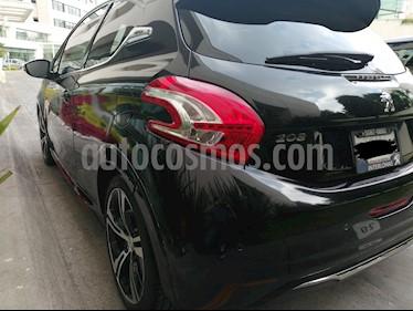 Peugeot 208 GT 1.6L usado (2014) color Negro precio $190,000