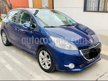 Peugeot 208 1.2L 5P Active Pack Puretech 82HP usado (2013) color Azul precio $5.850.000