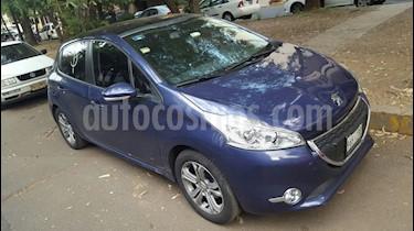 Foto venta Auto usado Peugeot 208 1.6L Allure Pack (2014) color Azul precio $130,000