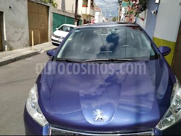 Foto venta Auto usado Peugeot 208 1.6L Allure Pack (2014) color Azul precio $123,000
