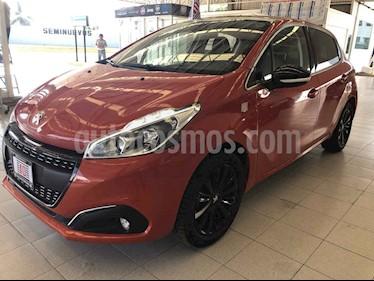 Foto venta Auto usado Peugeot 208 1.6L Allure (2018) color Naranja precio $205,000