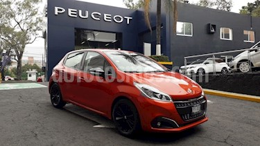 Foto venta Auto usado Peugeot 208 1.6L Allure (2018) color Naranja precio $224,900