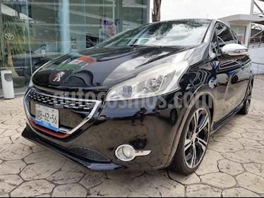 foto Peugeot 208 1.6L Féline 3P NAV usado (2014) color Negro precio $165,000