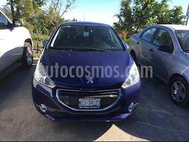 Foto venta Auto usado Peugeot 208 1.6L Feline 3P  (2014) color Azul precio $140,000