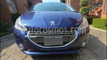 Foto venta Auto usado Peugeot 208 1.6L Feline 3P  (2014) color Azul precio $148,000