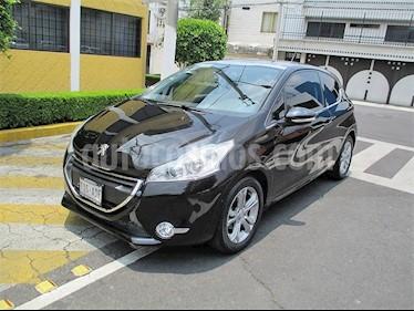 Foto venta Auto usado Peugeot 208 1.6L Feline 3P  (2015) color Negro precio $149,900
