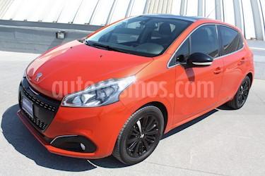 Foto venta Auto usado Peugeot 208 1.6L Feline Aut (2016) color Naranja precio $189,000