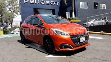 Foto venta Auto usado Peugeot 208 1.6L Feline (2017) color Naranja precio $194,900
