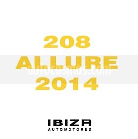 Foto venta Auto usado Peugeot 208 Active 1.5  (2014) color Negro precio $339.000