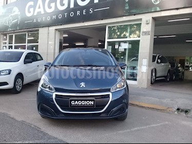 Peugeot 208 Active 1.5  usado (2016) color Azul Bourrasque
