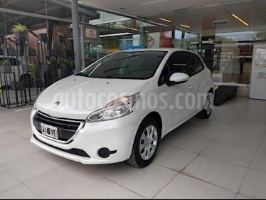 Foto Peugeot 208 Active 1.5 usado (2015) color Blanco precio $445.000