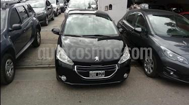 Foto venta Auto usado Peugeot 208 Allure 1.5 Full  (2014) color Negro precio $377.000