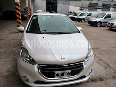 Foto venta Auto usado Peugeot 208 Allure 1.5 NAV (2015) color Blanco Banquise precio $390.000