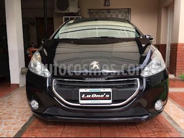 Foto venta Auto usado Peugeot 208 Allure 1.5 NAV (2014) color Negro precio $395.000