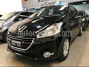 Foto venta Auto usado Peugeot 208 Allure 1.5 NAV (2015) color Negro Perla precio $370.000
