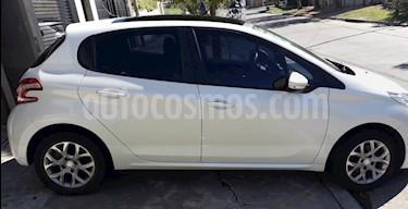 Peugeot 208 Allure 1.6 Aut NAV usado (2015) color Blanco Banquise precio $420.000