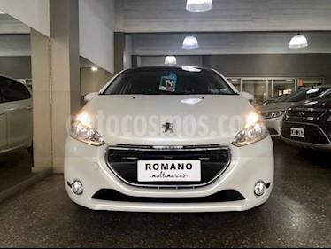 Peugeot 208 Allure 1.6  usado (2014) color Blanco Nacre precio $690.000