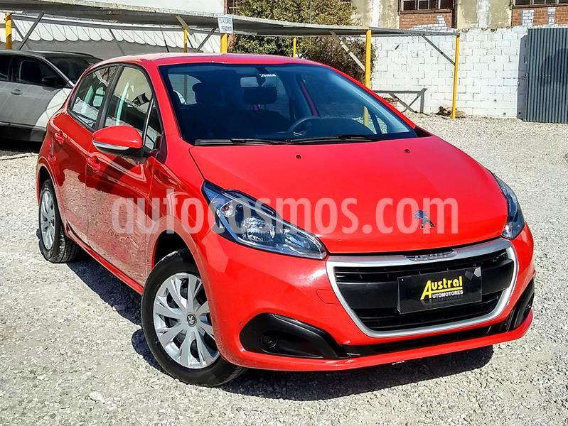 Peugeot 208 Active 1.5 usado (2017) color Rojo Aden precio $520.000
