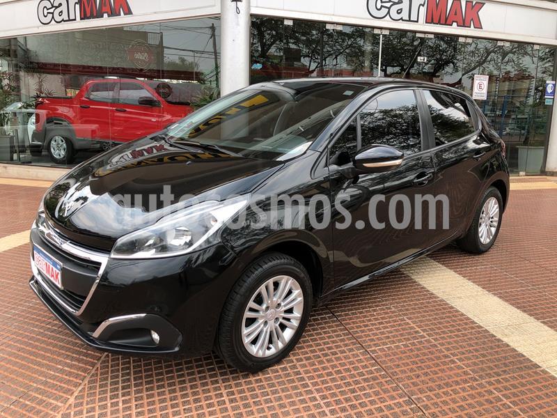 Peugeot 208 Allure 1.5 NAV usado (2016) color Negro precio $949.990