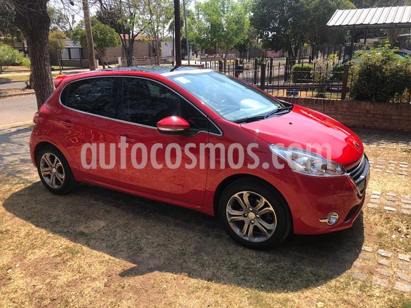 Peugeot 208 Feline 1.6 Pack Cuir usado (2015) color Rojo Aden precio $950.000