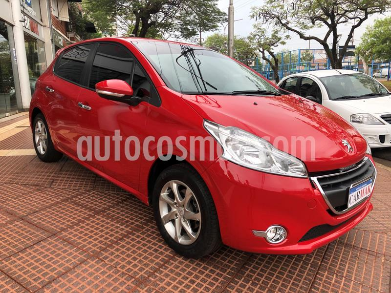 Peugeot 208 Allure 1.5  usado (2014) color Rojo precio $1.149.990