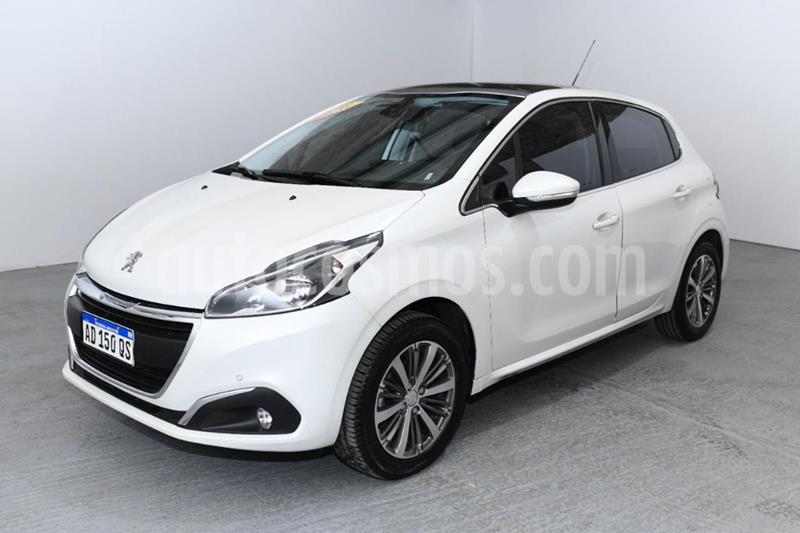Peugeot 208 Feline 1.6  usado (2018) color Blanco precio $1.450.000