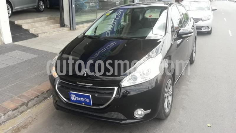 Peugeot 208 Feline 1.6  usado (2013) color Negro precio $980.000