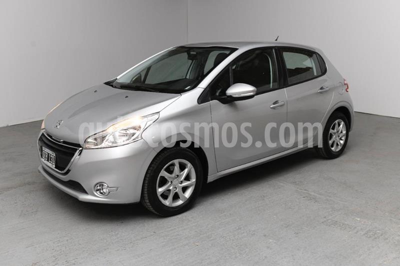 Peugeot 208 Active 1.5  usado (2014) color Gris Claro precio $760.000
