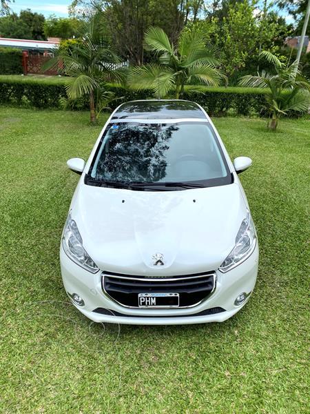 Peugeot 208 Allure 1.6 Tiptronic usado (2015) color Blanco Nacre precio $1.100.000