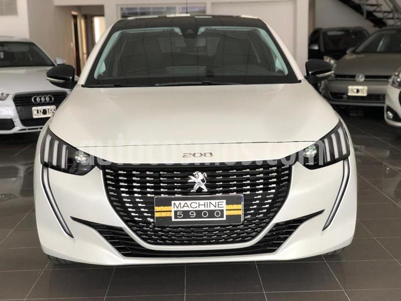 Peugeot 208 Allure 1.6 nuevo color Blanco precio $1.590.000