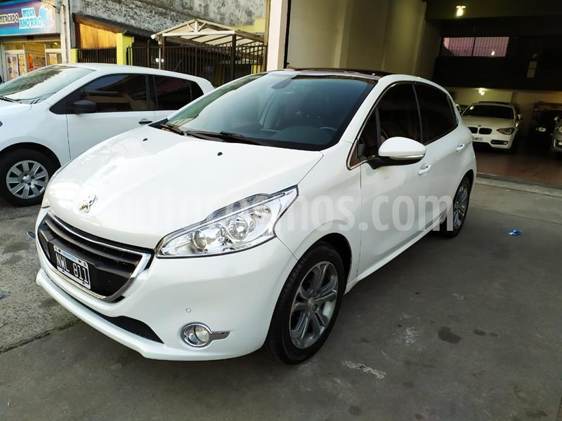 Peugeot 208 Feline 1.6 Pack Cuir usado (2014) color Blanco Nacre precio $810.000