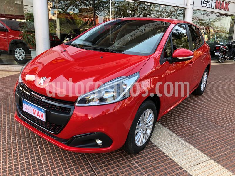 Peugeot 208 Allure 1.6 Aut usado (2017) color Rojo precio $1.195.000