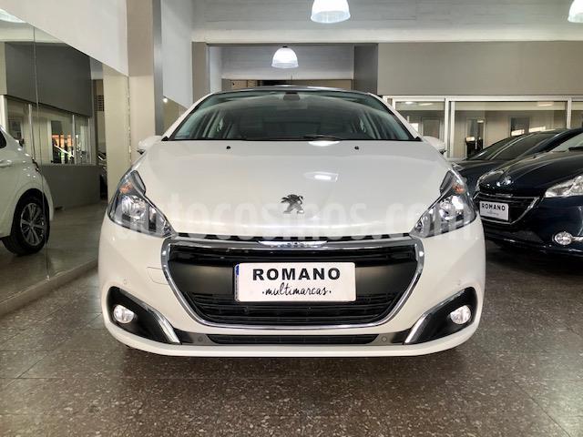 Peugeot 208 Feline 1.6 Aut usado (2019) color Blanco Banquise precio $1.300.000