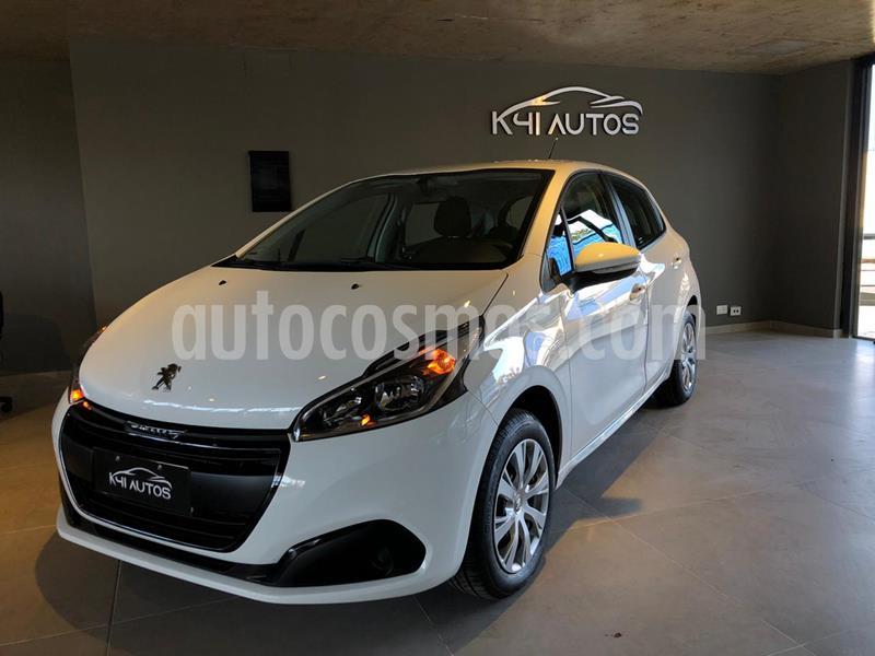 Peugeot 208 Active 1.6 usado (2020) color Blanco precio u$s7.219