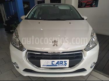 Peugeot 208 Feline 1.6  usado (2015) color Blanco Nacre precio $573.000