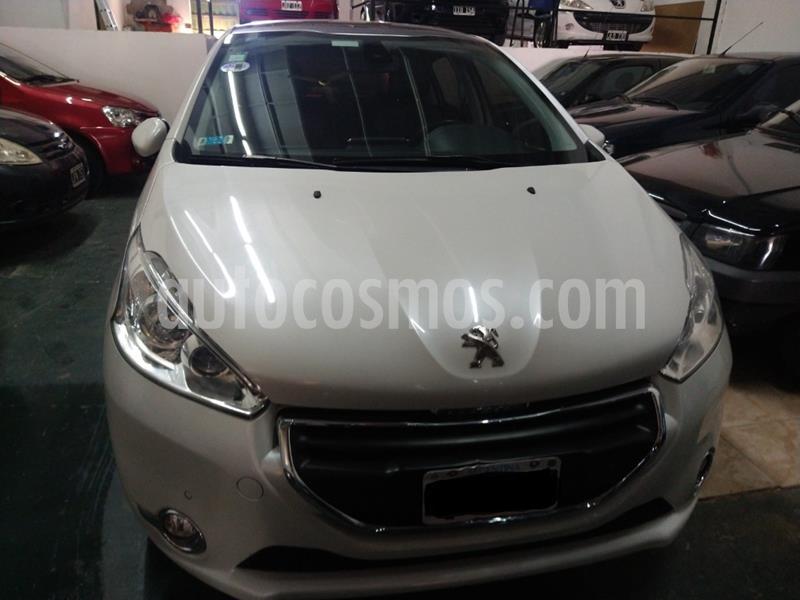 Peugeot 208 Feline 1.6 Pack Cuir usado (2015) color Blanco precio $1.220.000