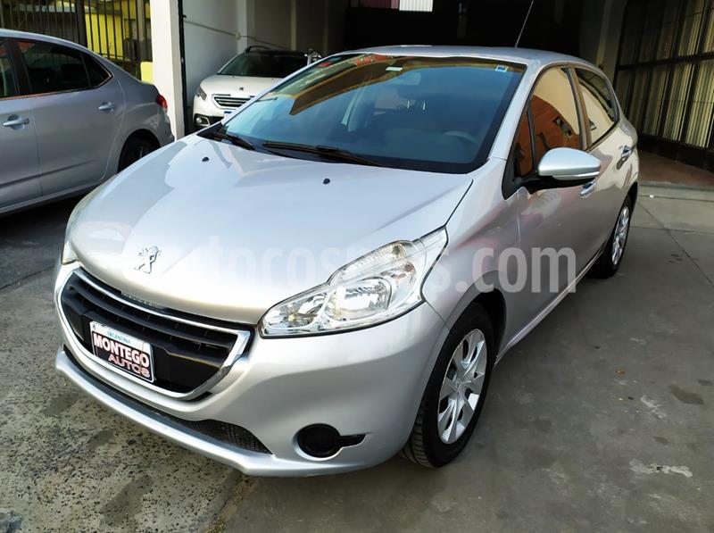 Peugeot 208 Active 1.5  usado (2013) color Gris Aluminium precio $800.000