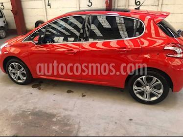 Peugeot 208 Feline 1.6 Pack Cuir usado (2016) color Rojo Aden precio $670.000