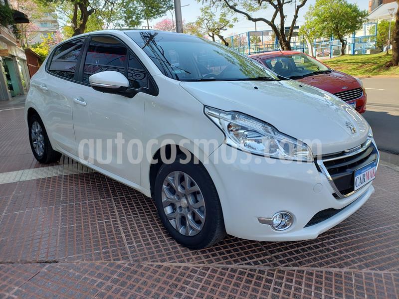 Peugeot 208 Allure 1.6  usado (2015) color Blanco precio $884.990