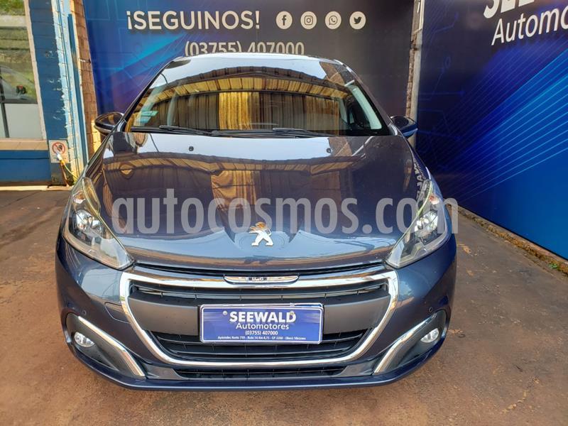 Peugeot 208 1.6 N 16v Feline(115cv) (L16) usado (2016) color Azul precio $1.280.000