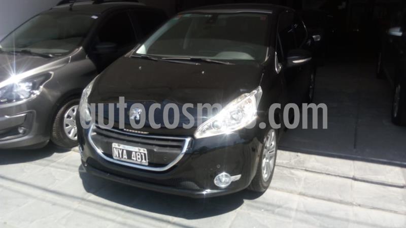 Peugeot 208 Feline 1.6 Pack Cuir usado (2014) color Negro precio $1.015.000