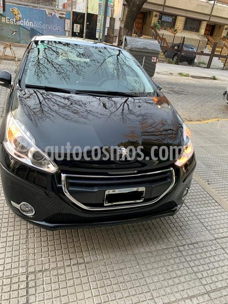 Peugeot 208 Feline 1.6 Pack Cuir usado (2014) color Negro Perla precio $940.000