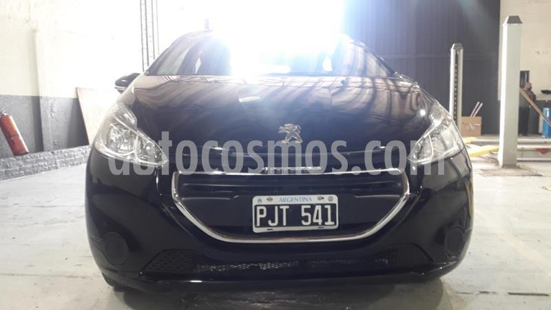 Peugeot 208 Allure 1.5 NAV usado (2015) color Negro precio $955.000